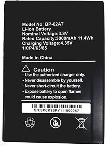 XMT Mobile Battery for YUHO VATS Plus, BP-62AT (3000 MAH LI-ION Battery)