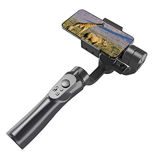 LKOER Estabilizador de cardán de 3 ejes para iPhone X XR XS Pixel Smartphone Vlog, grabación de vídeo iPhone-Android con bolso, Dolly Zoom, Timelapse, Panorama, 200 g de carga útil.