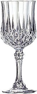 Luminarc Arc International Longchamp Diamax Wine Glasses (Set of 4), 5.5 oz, Clear