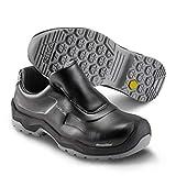 Sika 202410 First Chaussures de sécurité S2 SRC – Idéal pour les hôtels, restaurants, cantines, industries pharmaceutiques et alimentaires - Noir - Noir , 43 EU
