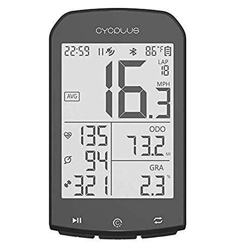 XIEXJ GPS Inalámbrico De Bicicletas Ordenador Cuentakilómetros Velocímetro, Impermeable Al Aire Libre...