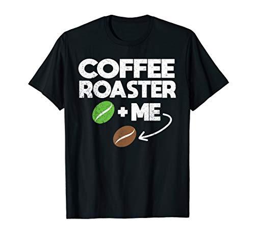 Distressed Coffee Roaster Roasting Master Roast Bean T-Shirt