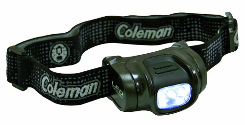 Coleman Axis LED - Linterna Frontal, Color Verde