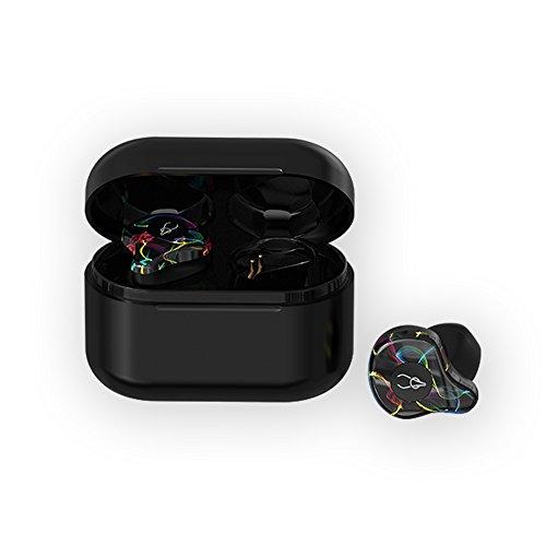 okcsc Auriculares inalámbricos con Bluetooth V5.0 Invisible, Auriculares Bluetooth Integrados,...