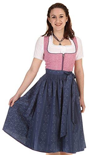 Turi Landhausmode Damen Dirndl Midi 65-70cm D711073 Berta 1205