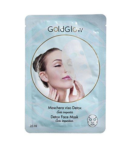 GoldGlow Maschera Viso Anti impurità - 20 ml