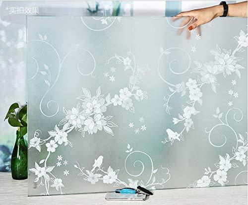 Djkaa raamfolie, zelfklevend, transparant, bescherming tegen verblinding 90*300cm(35.43*118.11 inch)