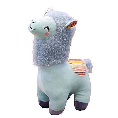 HE TUI Alpaca de Peluche de Juguete de Dibujos Animados de Tela Llama cosiendo Relleno muñeca Suave Animal Regalo de cumpleaños Juguete