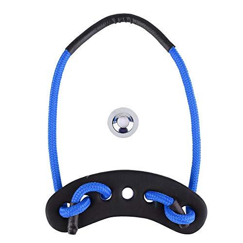 Archery Wrist Sling, Bow and Arrow Cuerda de Cuero Trenzado de Cuero PU para Arcos