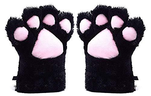 Huixin Damen Cosplay Katzen Alle Abdeckung Jungen Tatze Handschuhe Mode Kuschelig Outd