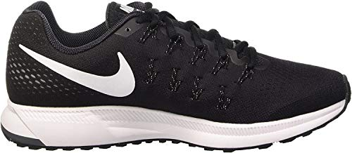 Nike Men's Air Zoom Pegasus 33, Black/White/Anthracite/Cool Grey - 10.5 D(M) US