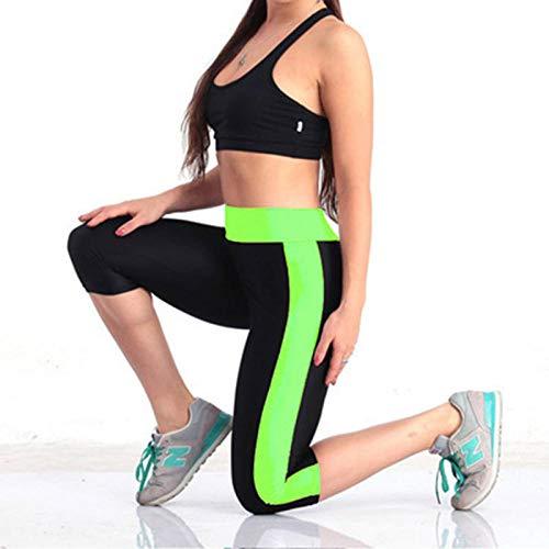 Leggings De Yoga Para Mujeres Pantalones De Yoga Ajustados De 9 Colores Mujeres Entrenamiento Leggings De Bolsillo Fitness Deportes Gimnasio Correr Yoga Pantalones Deportivos Cintura Elástica-Fluore