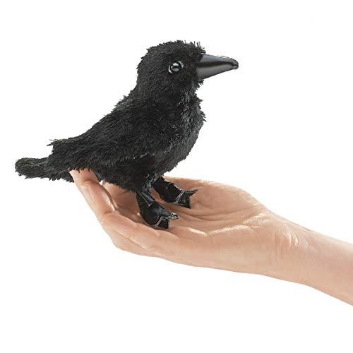 Folkmanis Mini Raven Finger Puppet