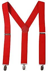 Red Braces for Goonie Sloth Costume