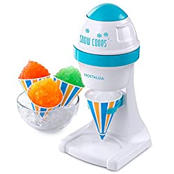 Budget Choice for Best Snow Cone Machine: Nostalgia ISM1000 Electric Shaved Ice & Snow Cone Maker