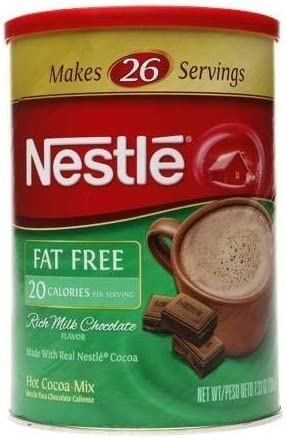 Nestle Hot Cocoa Fat Free Canister 3PC product image
