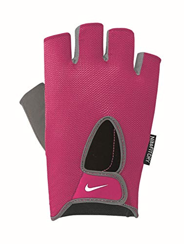 Nike Damen Fundamental Fitness Gloves Handschuhe, Vivid pink/Cool Grey, XS