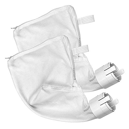 Great Deal! Hydron 2pcs Swimming Pool Cleaner Filter Bag Swimming Pool Suction Machine Filter Bag Zi...