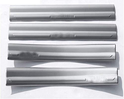 WanMei 4 Pcs Coche Acero Inoxidable Protector Umbral Puerta para BMW 2 Series Active Tourer 5 and 7 Seats F45 F46 218i 2015 2016 2017, Pegatinas Cubierta Película Antipatada Accesorios