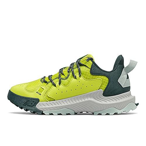 New Balance SHA, Zapatillas para Carreras de montaña Mujer, Amarillo azufre, 35 EU