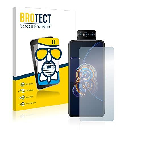 BROTECT Protector Pantalla Cristal Mate Compatible con ASUS ZenFone 8 Flip Protector Pantalla Anti-Reflejos Vidrio, AirGlass