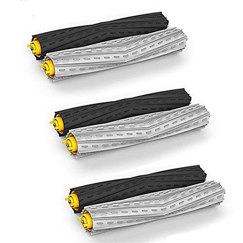 IUCVOXCVB Accesorios de aspiradora Los escombros 3 Conjunto enreda Extractor Cepillo for el Ajuste for iRobot Roomba Serie 900 800 870 880 980