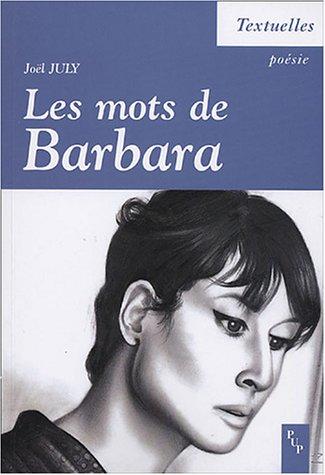 Les mots de Barbara