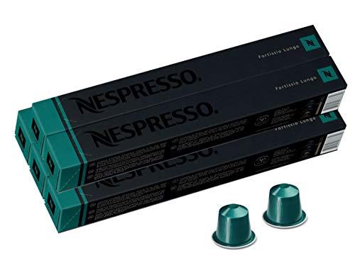 Nespresso Fortissio Lungo, 5er Pack, 5 x 10 Kapseln