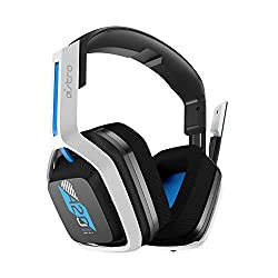 Extended range: This gaming headset has a wireless range of up to 15m (50 ft) through the 2.4 GHz wireless signal Cross-platform compatibility: The A20 headset for PS5 and PS4 includes a console specific USB transmitter and expanded console compatibi...