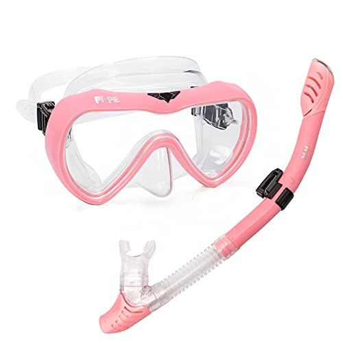 PI-PE Schnorchelset Active Pro Pink