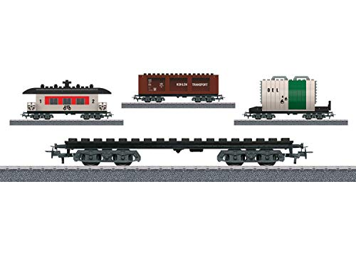 Märklin Start up 44736 - Bausteinwagen-Set, Spur  H0