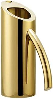 ZEER 欧米西欧スタイル ステンレス製 アーティスティックデザイン ピッチャー 冷水筒 給水ウォーターポット ゴールド (1000ml)