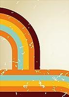 igsticker ポスター ウォールステッカー シール式ステッカー 飾り 841×1189㎜ A0 写真 フォト 壁 インテリア おしゃれ 剥がせる wall sticker poster 002727 ユニーク 模様 カラフル