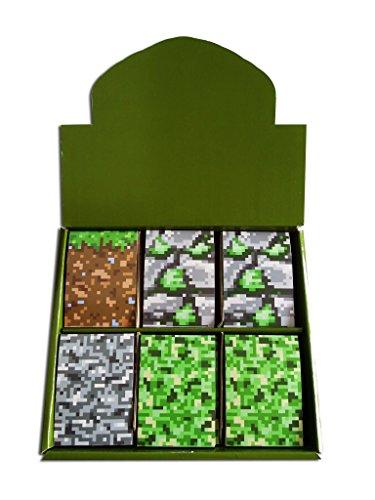 Block Notizblöcke für Kinder, klein, Tarnmuster, 12 Stück Von Gaming-Fans geliebt Tolles Geschenk zum Ende des Termins oder als Partytütenfüller