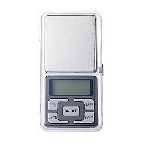 Mini Pocket Elektronische Weegschaal Mobiele Telefoon Weegschaal Palm Elektronische Weegschaal Precisie 0.01G Sieraden Weegschaal -100G / 0.01G