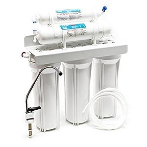 Naturewater NW-PR305 Filtro de agua 5-Etapas con grifo y válvula corta tres vías Filtración de agua