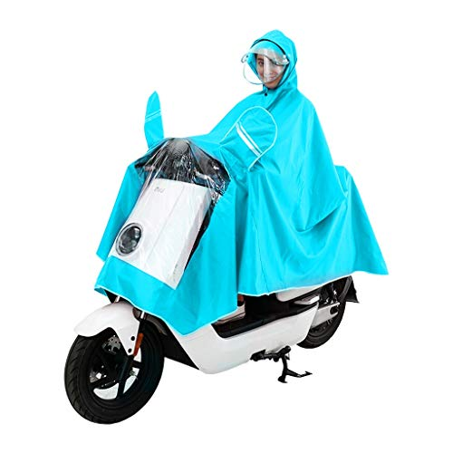 XZ15 regenjas voor op de batterij, voor fiets, motorfiets, outdoor, paardrijden, wandelen, volwassenen, mannen, vrouwen, verdikking, poncho, single