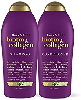 OGX Thick & Full +Biotin & Collagen Shampoo & Conditione 25.4 Ounce