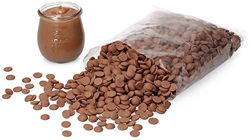 Callebaut Callets | Kuvertüre für Pralinen, Desserts und Torten | Vollmilch | 1 kg …