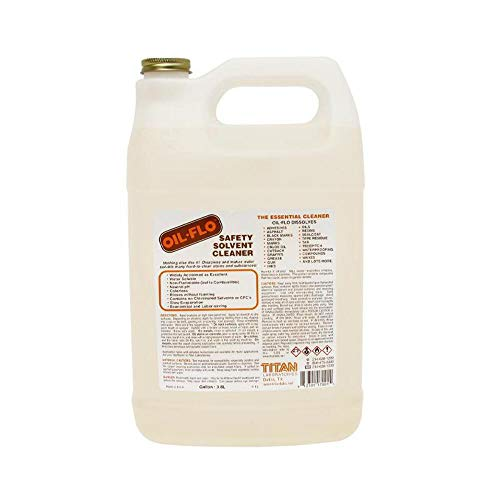 Titan Laboratories Oil Flo - Safety Solvent Cleaner - 1 Gallon 7004