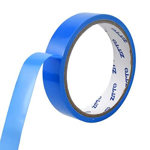 wangjiangda FahrradReifen Band Blau10 m x 21mm Erwachsene Fahrrad-Innenreifen Puncture Protection Band Wheel Felgenband Tubeless Tire Pad Fahrrad Carbon Fiber Tube Pannensicher Pannenschutzband
