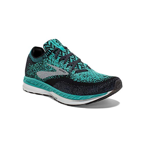 Brooks Womens Bedlam Running Shoe - Teal/Black/Ebony - B - 9.0