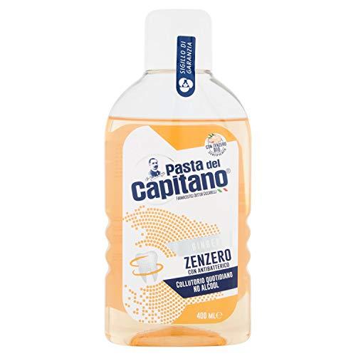 Pasta del Capitano Collutorio Zenzero Con Antibatterico - 400 Ml - 400 ml