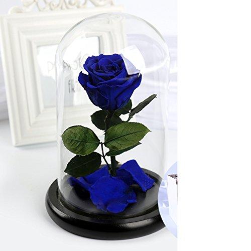 FLCP Artificial Flowers Boîte de Cadeau Fleur éternelle/Roses/Valentine-G