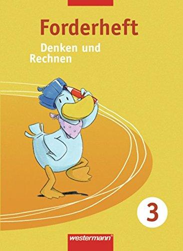 Denken und Rechnen - Zusatzmaterialien Ausgabe ab 2005: Forderheft 3