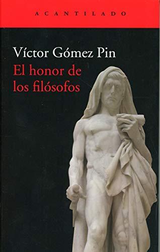 El honor de los filósofos: 407 (El Acantilado)