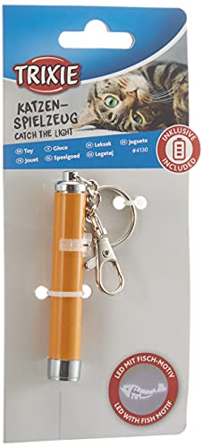 Trixie 4130 LED Pointer Catch the Light, 8 cm, gelb