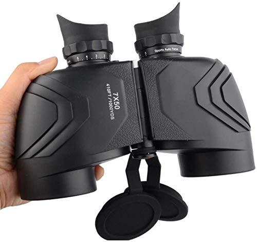 FZMT Prismáticos de 7 x 50 para niños y Adultos, prismáticos portátiles con Vida, prismáticos a Prueba de Agua con Lente BAK4 Prism FMC para observación de Aves, montañismo, outdoo