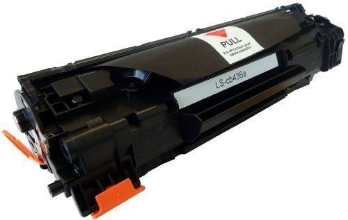 Bubprint Toner kompatibel für CB436A HP36A HP 36A 36 A für LaserJet P1503 P 1505 P1505 P1505N P1506 M1120MFP M1120 M1500 MFP M1522N M1522NF Schwarz
