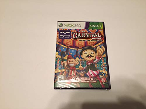 CARNIVAL GAMES MONKEY SEE AND MONKEY DO XBOX 360 KINECT GAME